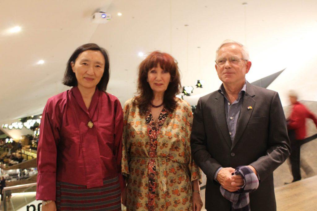 Dasho Pema Choden, Babeth VanLoo, and Kees Klein